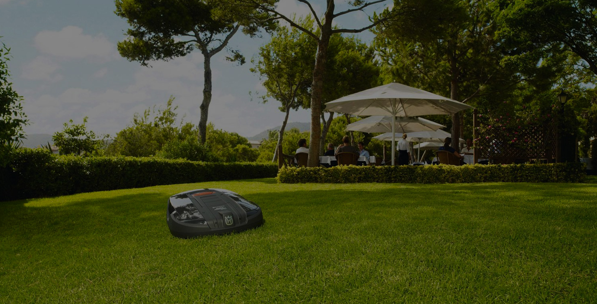 LET A ROBOTIC MOWER