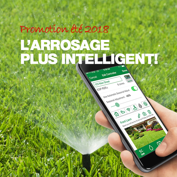 Arrosage plus intelligent!