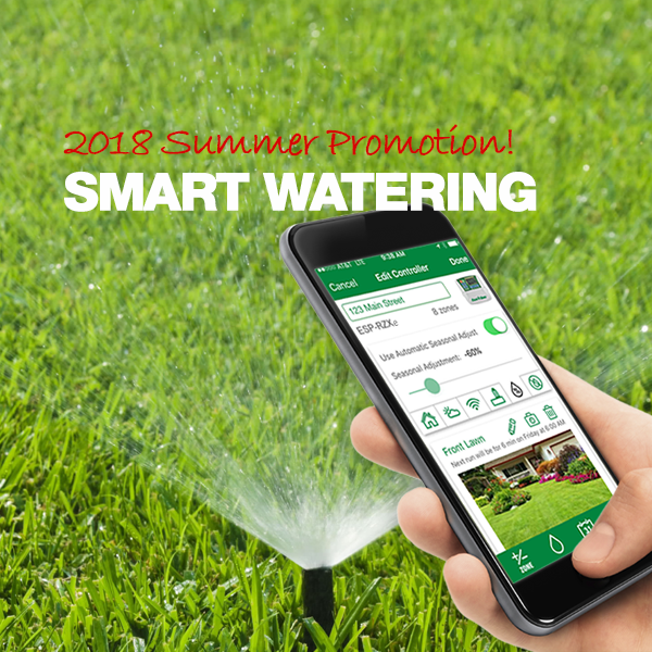 Summer Promotion - Smart Watering